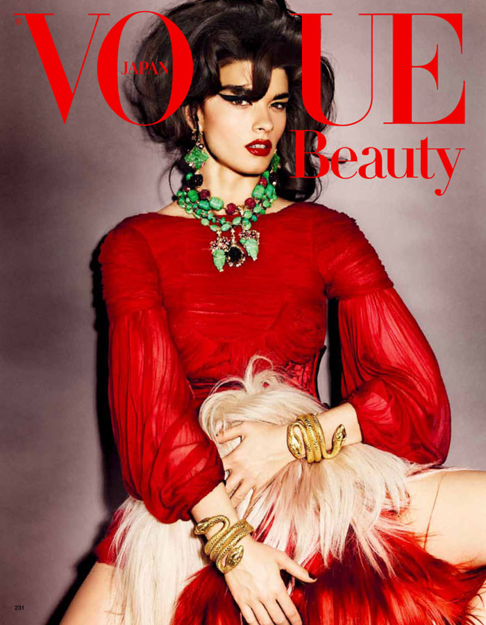 Crystal Renn by Giampaolo Sgura for Vogue Japan October 2011