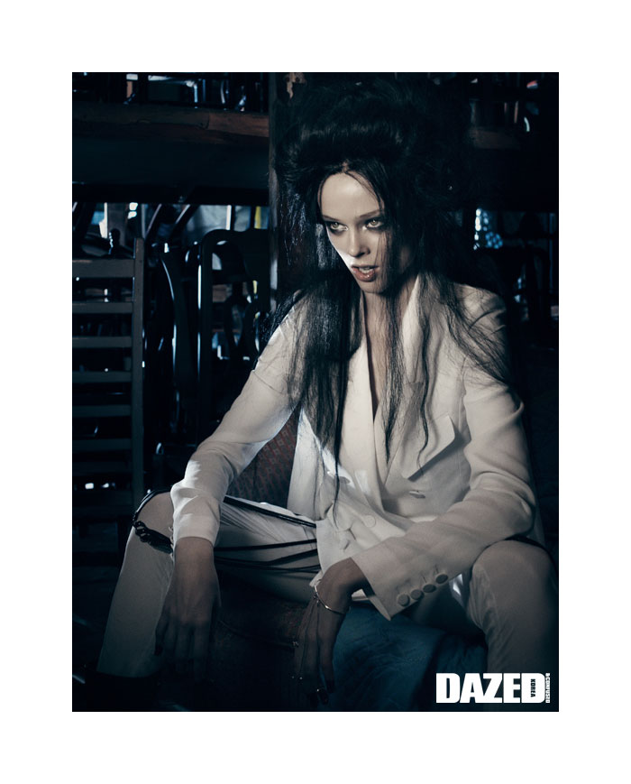 Coco Rocha by Gregory Harris for Dazed & Confused Korea September 2011
