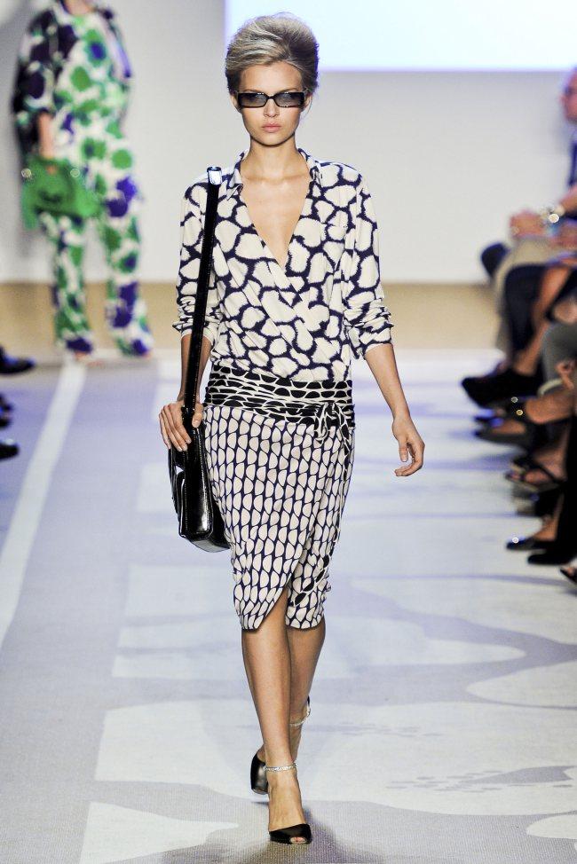 Diane de furstenberg robe portefeuille
