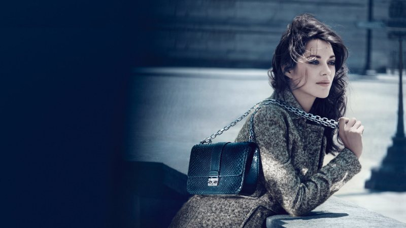 Marion Cotillard for Miss Dior Handbags Fall 2011 Campaign by Mikael Jansson
