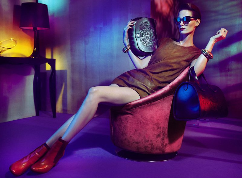 Iris Strubegger by Hunter & Gatti for Uterque Fall 2011 Campaign