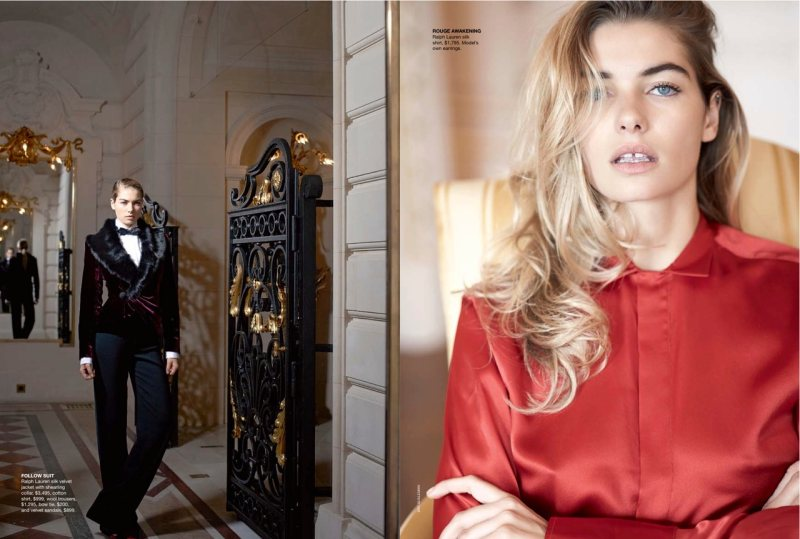 Jessica Hart by Eric Guillemain for Vogue Australia October 2011