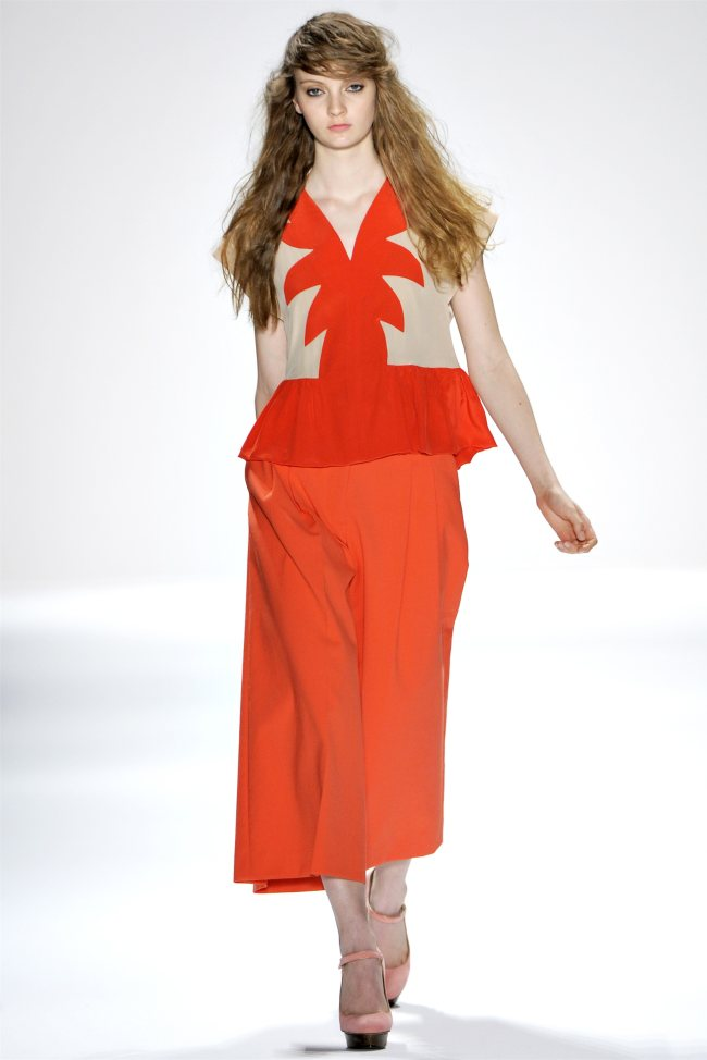 Jill Stuart Spring 2012    New York Fashion Week