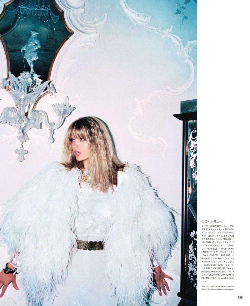 Julia Stegner by Katja Rahlwes for Vogue Japan October 2011