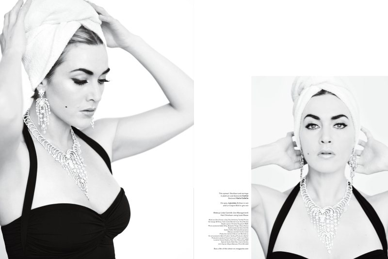 Kate Winslet for V Magazine #73 by Mario Testino