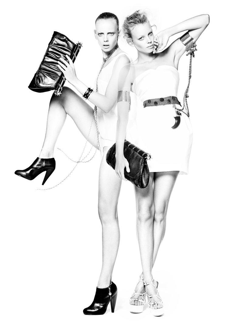 Maison du Posh Fall 2011 Campaign | Dorith Mous by Lutske Veenstra