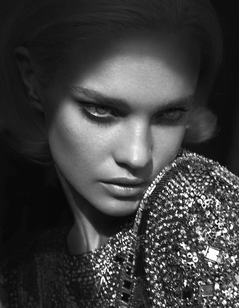 Natalia Vodianova by Cuneyt Akeroglu for Vogue Turkey September 2011