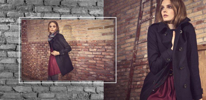 Nimue Smit for Massimo Dutti's September 2011 Lookbook