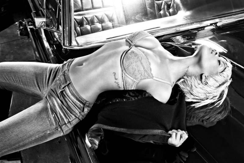 Rihanna for Emporio Armani Underwear Fall 2011 Campaign by Steven Klein