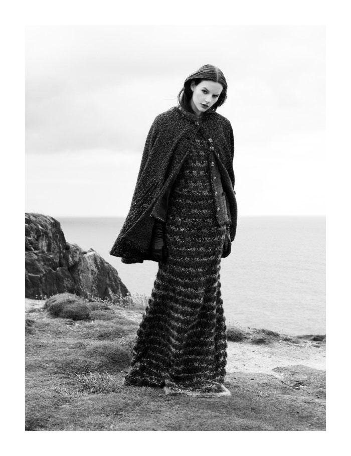 Sara Blomqvist by Ben Toms for Harper's Bazaar UK