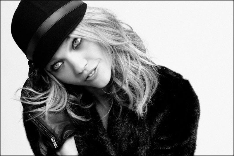 Sasha Pivovarova for Reserved - Behind the Scenes by Agata Pospieszynska