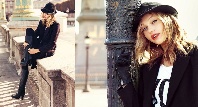 Sasha Pivovarova for Reserved Fall 2011 Campaign