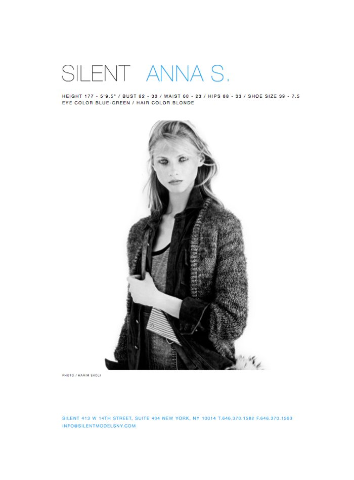 Silent New York Spring/Summer 2012 Show Package