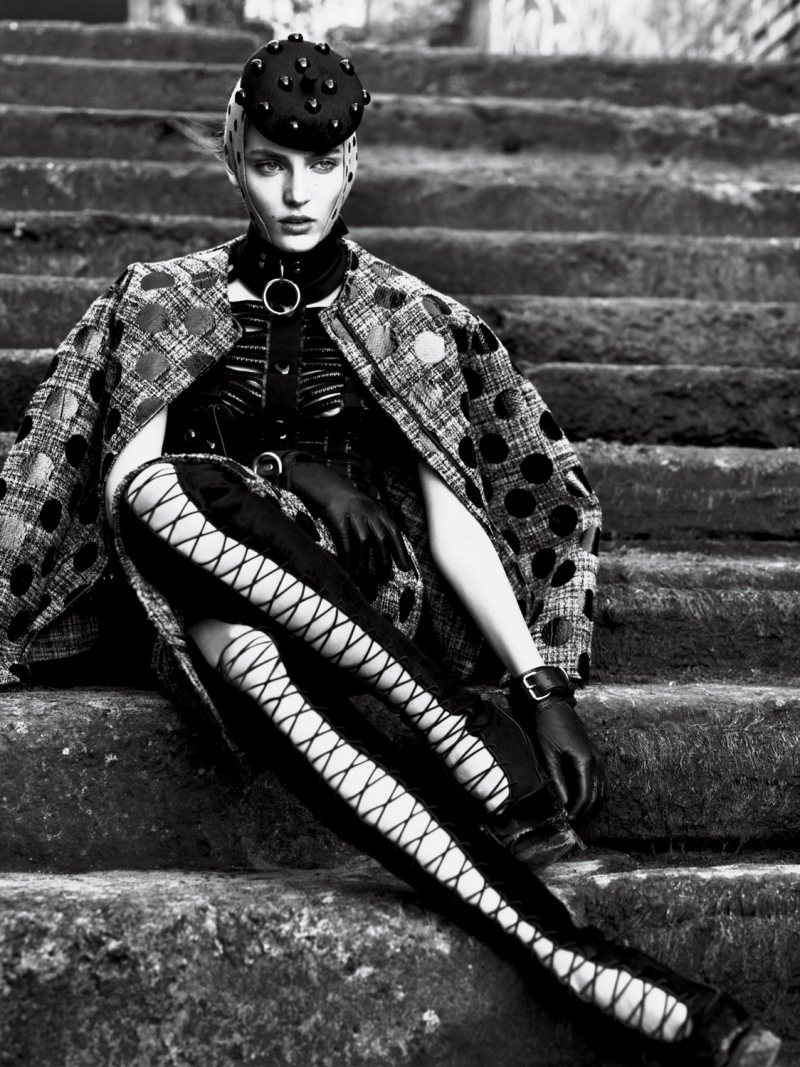 Candice Swanepoel, Saskia de Brauw, Anais Pouliot & Others by Mert & Marcus for Interview September 2011