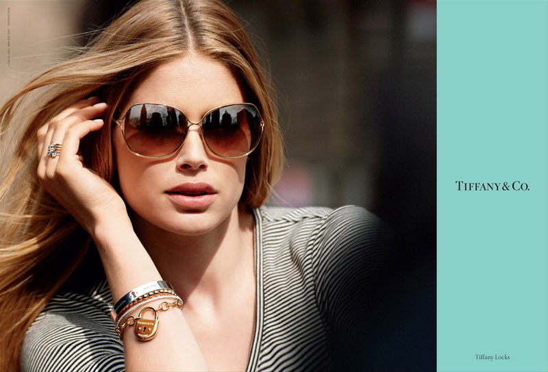 Tiffany & Co. Fall 2011 Campaign   Doutzen Kroes by Peter Lindbergh