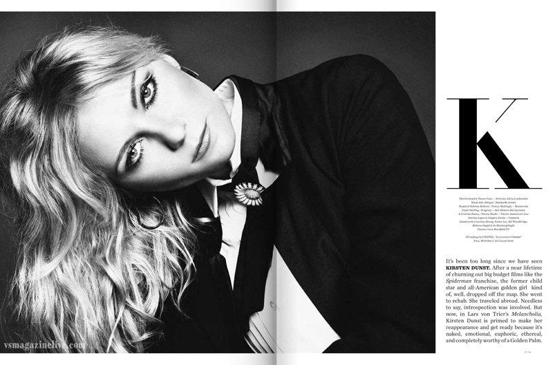 Kirsten Dunst, Amber Heard & Laetitia Casta Cover Vs. Magazine F/W 2011