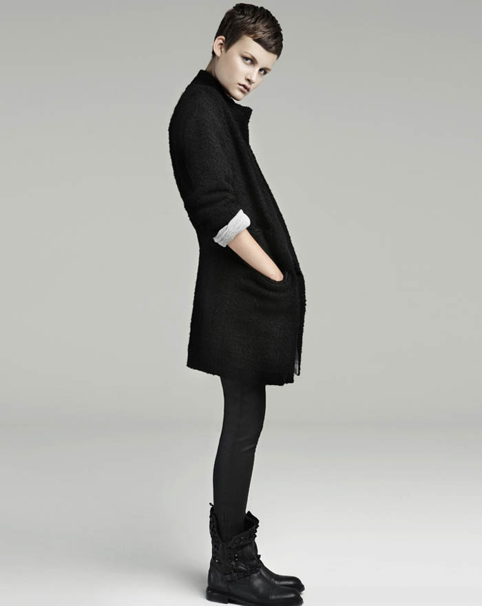 Zara September 2011 Lookbook: Nina Porter