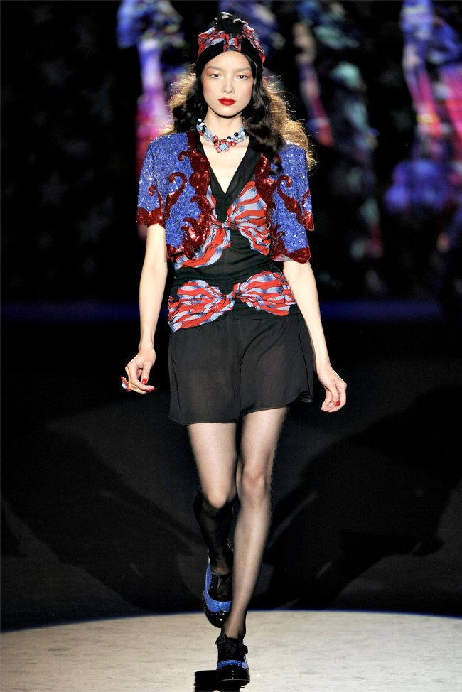 Anna Sui Spring 2012 | New York Fashion Week