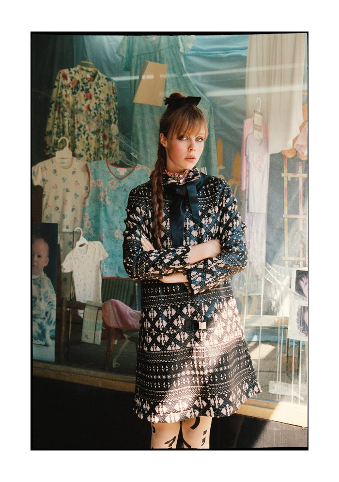 Edie Campbell by Tim Barber for Muse Fall 2011
