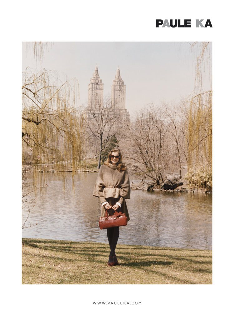 Eniko Mihalik for Paule Ka Fall 2011 Campaign by Venetia Scott