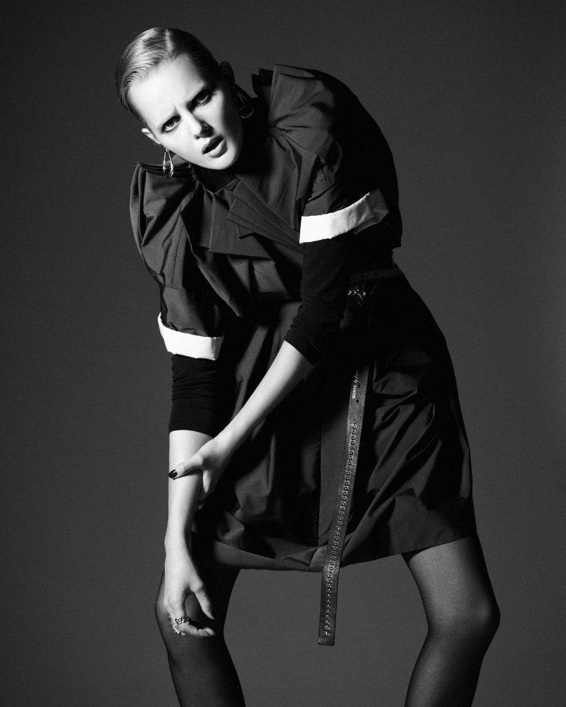 Sanne Nijhof by Enric Galceran for QVEST September 2011