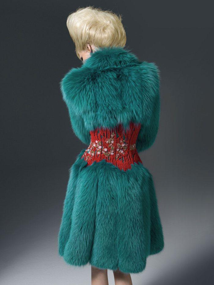 Atelier Versace Fall 2011: Kasia Struss
