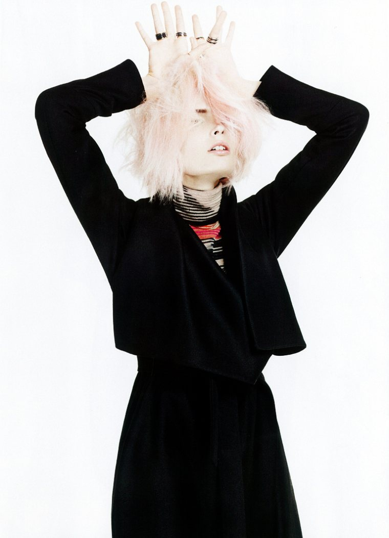 Agnete Hegelund by Emilio Tini for Flair October 2011