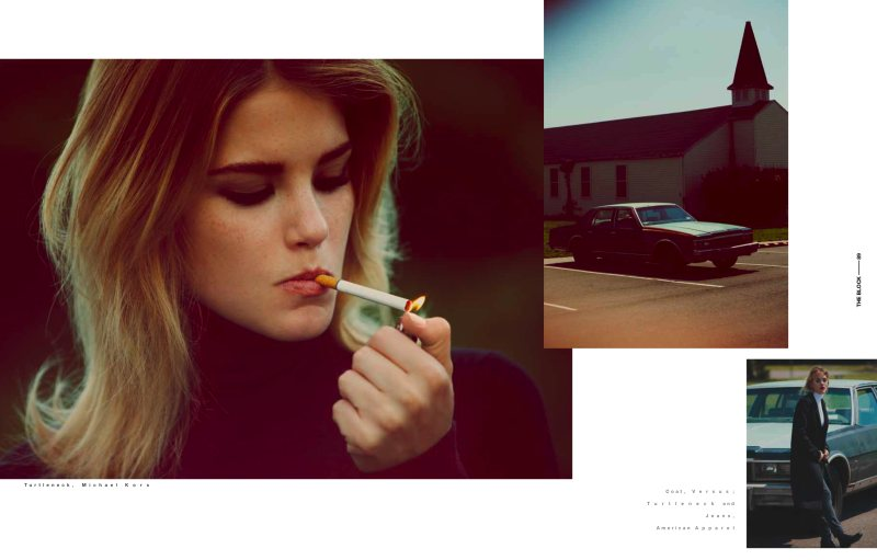 Ashley Smith by Guy Aroch for The Block F/W 2011