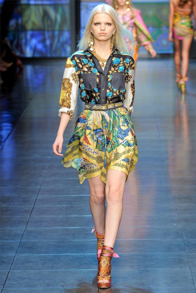 D&G Spring 2012 | Milan Fashion Week | Page 2 | The