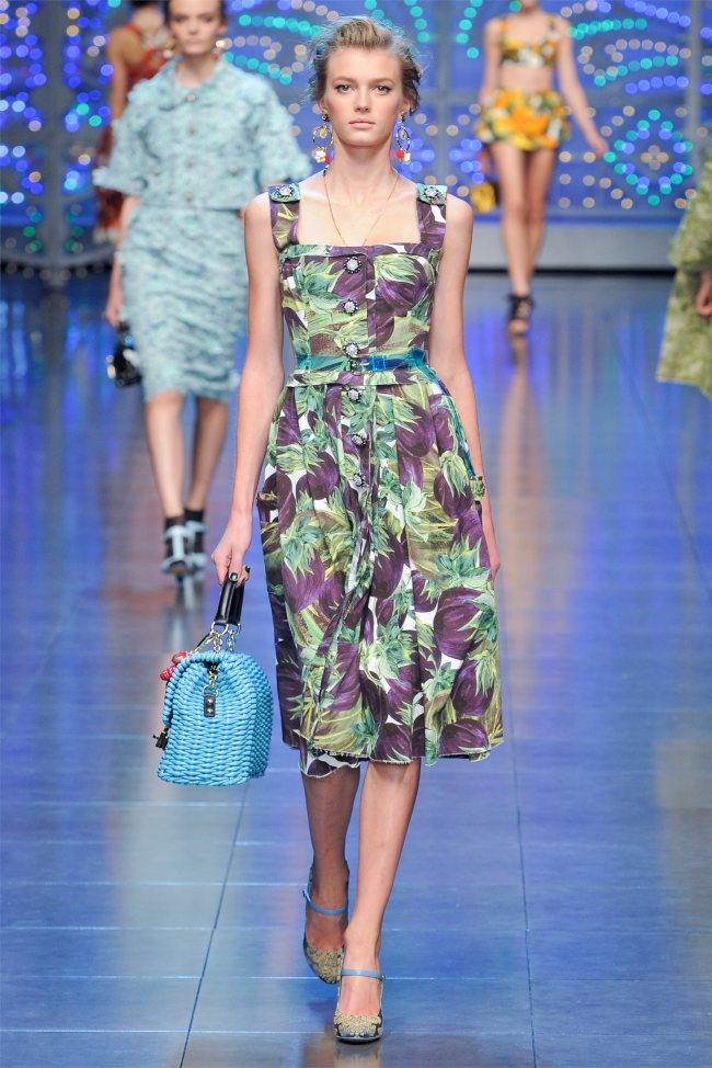 7e90d82ca70 Dolce & Gabbana Spring 2012 | Milan Fashion Week | Page 2 | Fashion ...