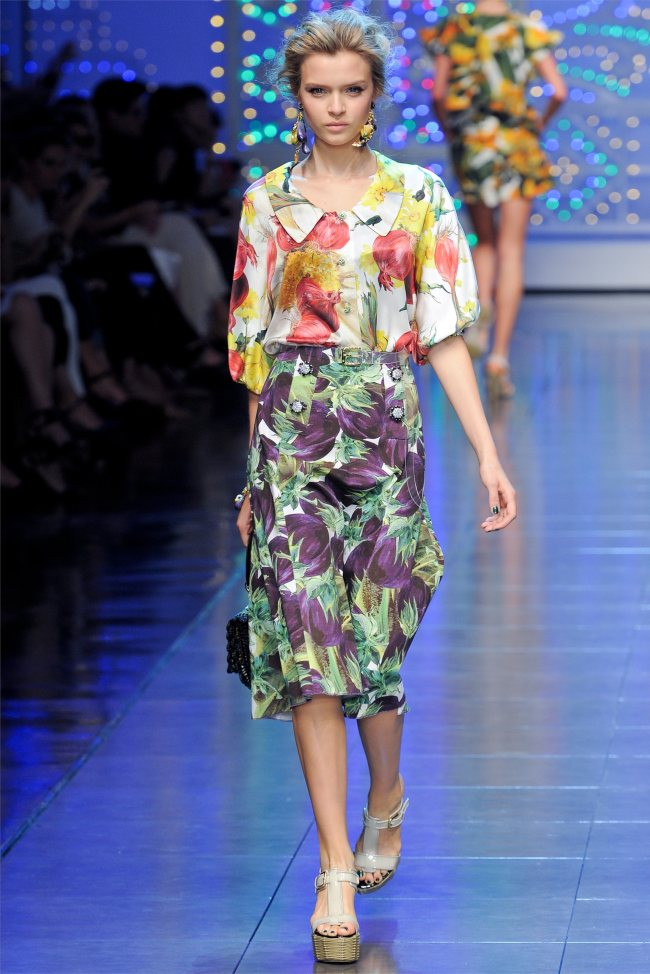 Dolce & Gabbana Spring 2012 | Milan Fashion Week