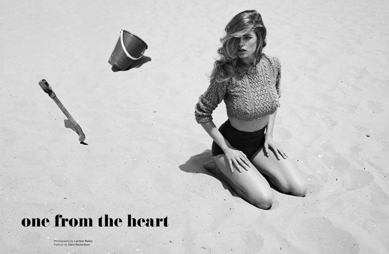 Doutzen Kroes by Lachlan Bailey for Muse Fall 2011