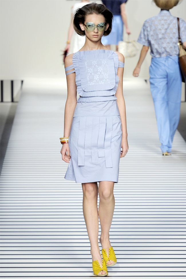 Fendi Spring 2012 | Milan Fashion Week