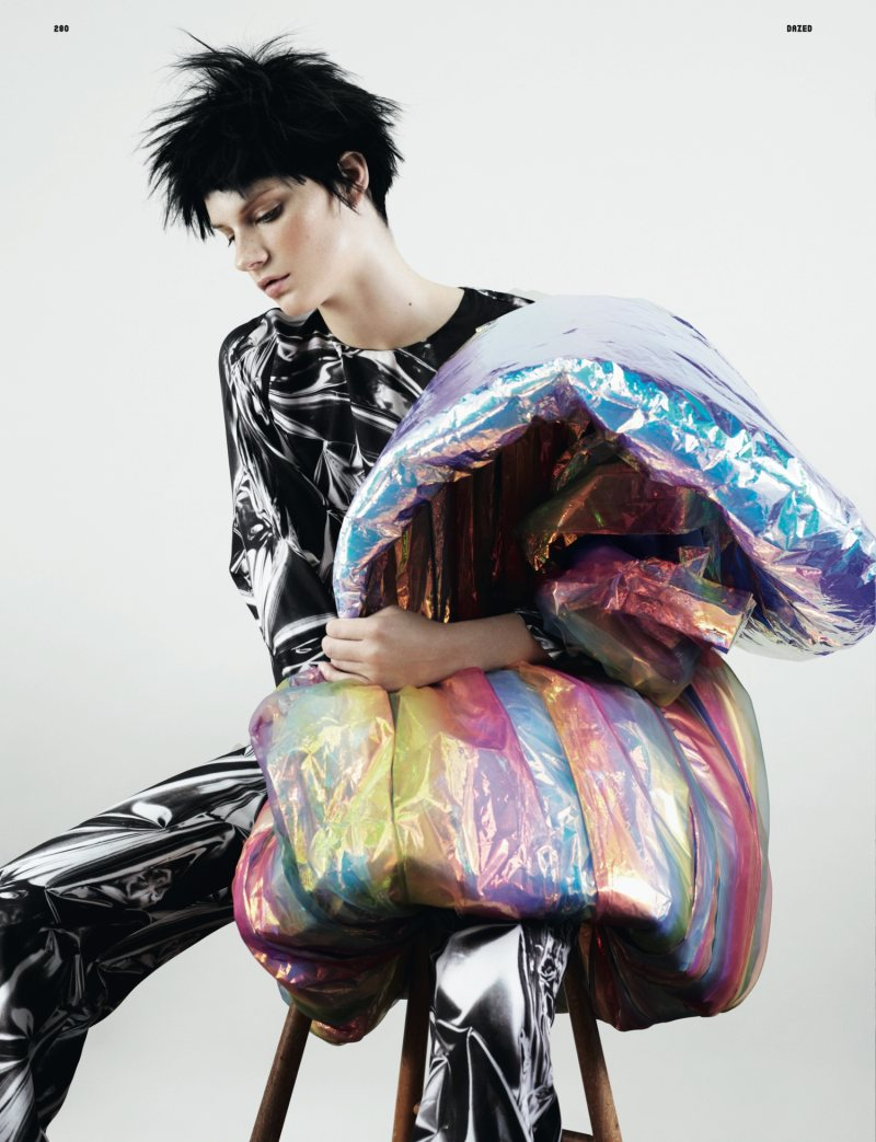 Querelle Jansen by Ben Toms for Dazed & Confused October 2011