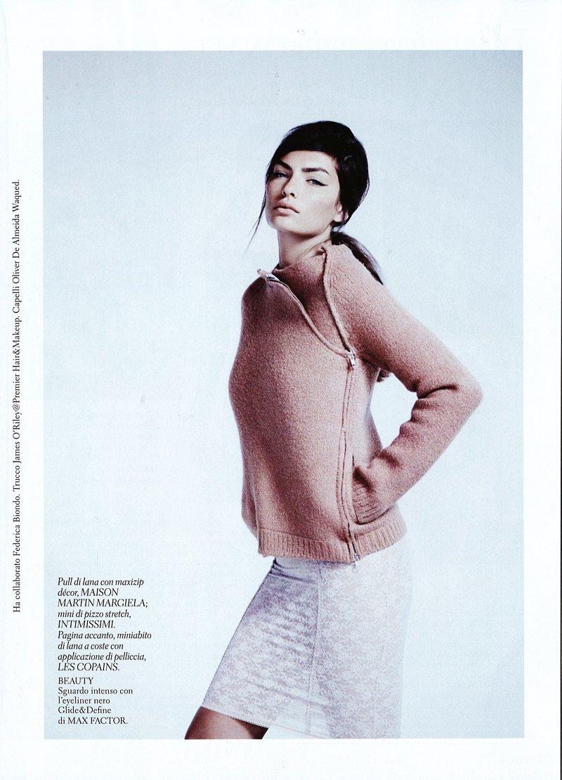 Alyssa Miller by Laurence Ellis for Gioia Magazine