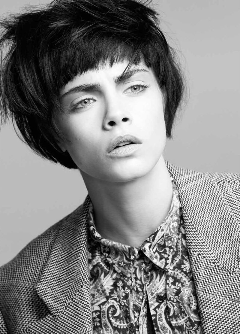 Cara Delevingne by Jermaine Francis for Tank Fall 2011