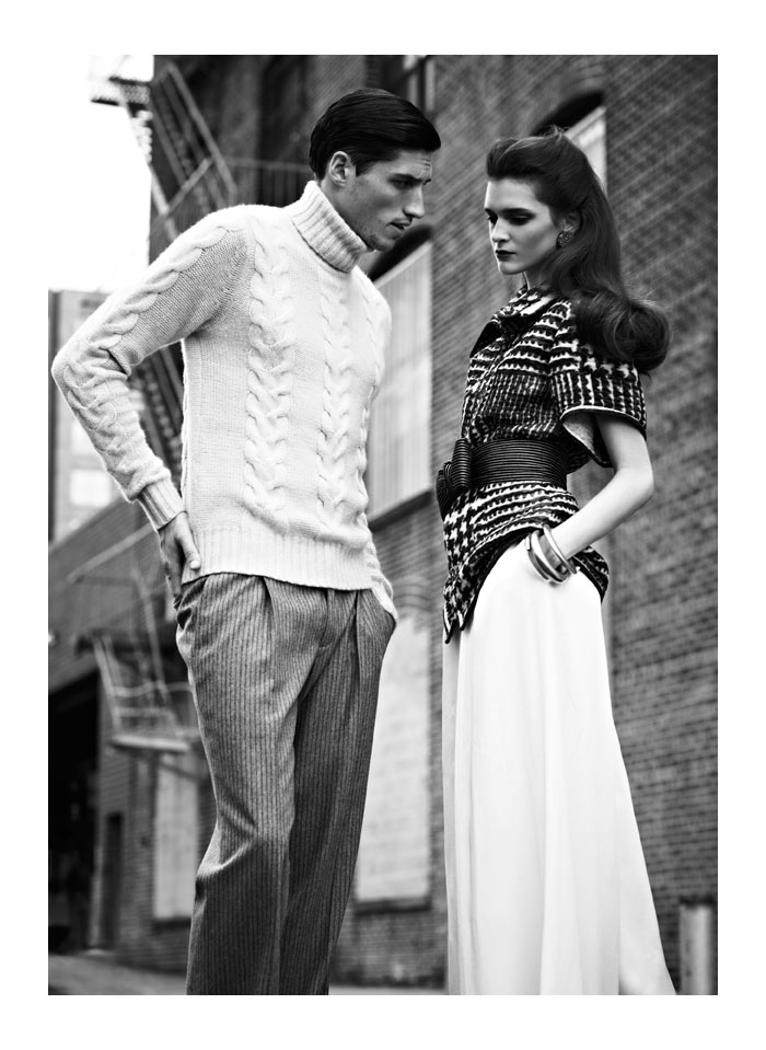 Wang Xiao & Annabelle Tsabouka by Blair Getz Mezibov for SCMP Style Magazine