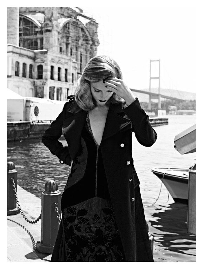 Ieva Laguna by Koray Birand for Vogue Hellas October 2011