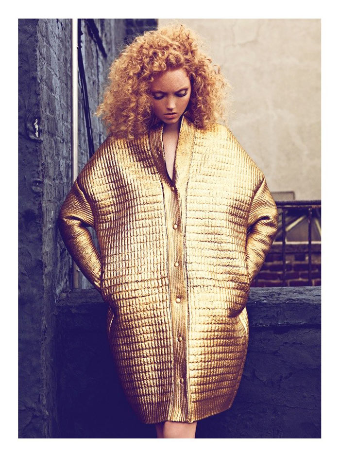 Lily Cole by Koray Birand for Harper's Bazaar Turkey October 2011