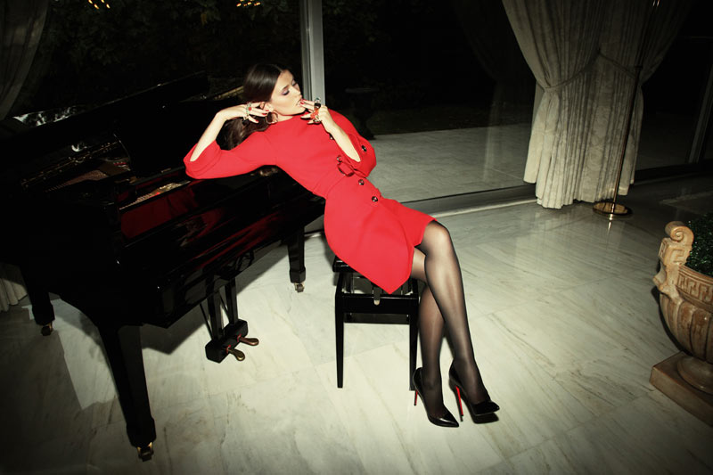 Chloe Lecareux by Richard Bernardin for Grazia France