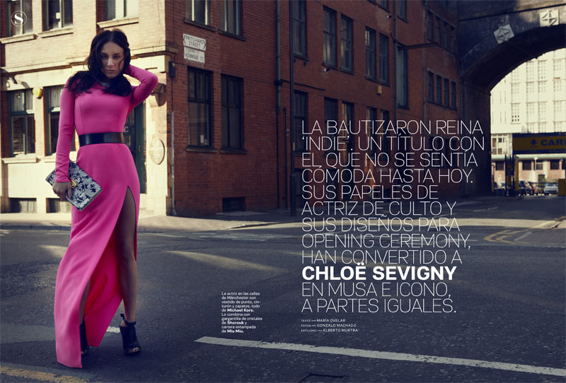 Chloe Sevigny by Gonzalo Machado for S Moda