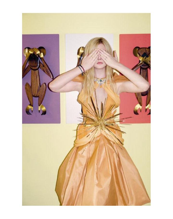 Elle Fanning in Rodarte by Bill Owens for A Magazine