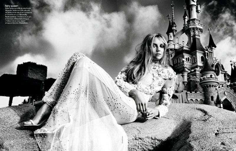 Heather Marks by David Burton for Elle France