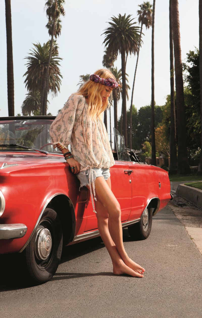 Jessica Hart for Free People January 2012 by Chrissy Piper