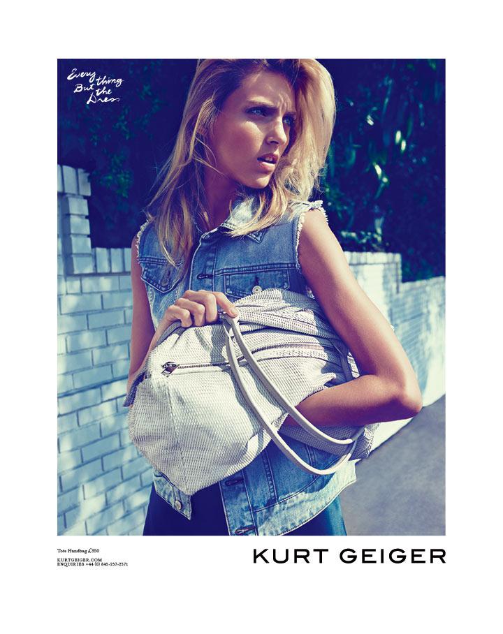 Anja Rubik for Kurt Geiger Spring 2012 Campaign by Erik Torstensson