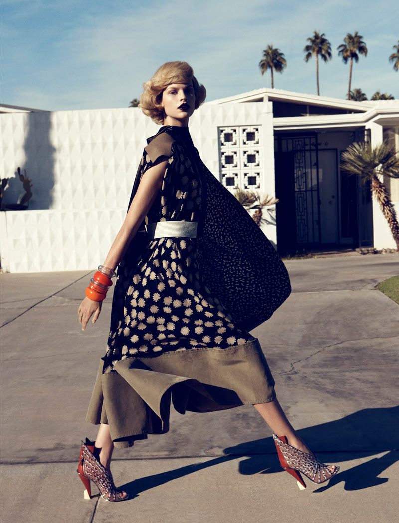 Bette Franke by Lachlan Bailey for Harper's Bazaar US February 2012