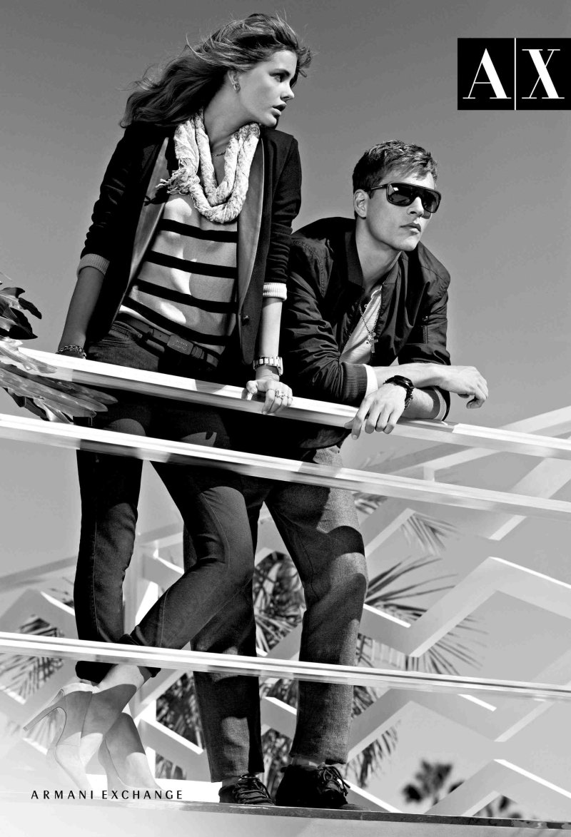 Barbara Palvin for Armani Exchange Spring 2012 Campaign by Matthew Scrivens