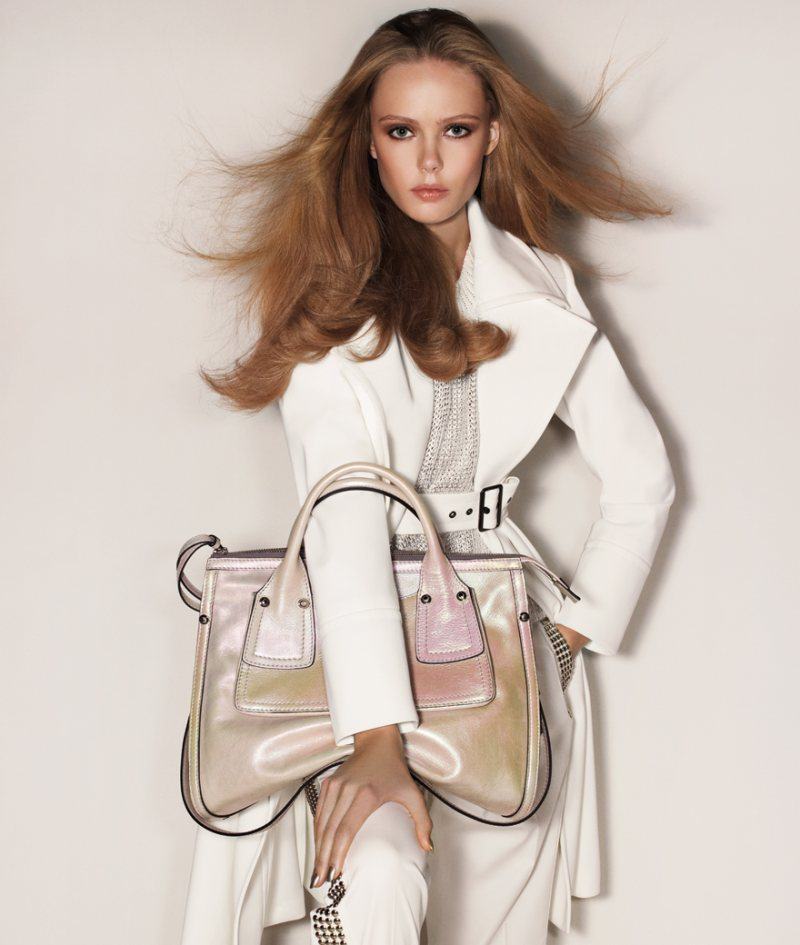 Frida Gustavsson for Sportmax Spring 2012 Campaign