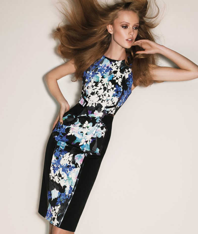 Frida Gustavsson for Sportmax Spring 2012 Campaign