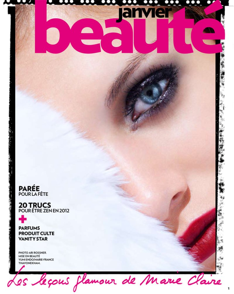 Vlada Podverbnaya by Ari Rossner for Marie Claire France January 2012